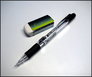 消しゴムを使った鉛筆デッサンの裏技