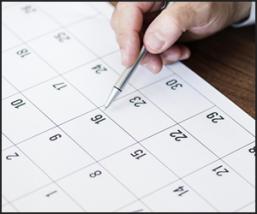 資格の受験日程の目安